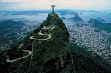 Corcovado Mountain in Rio