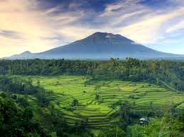 Mt. Agung in Bali, Indonesia