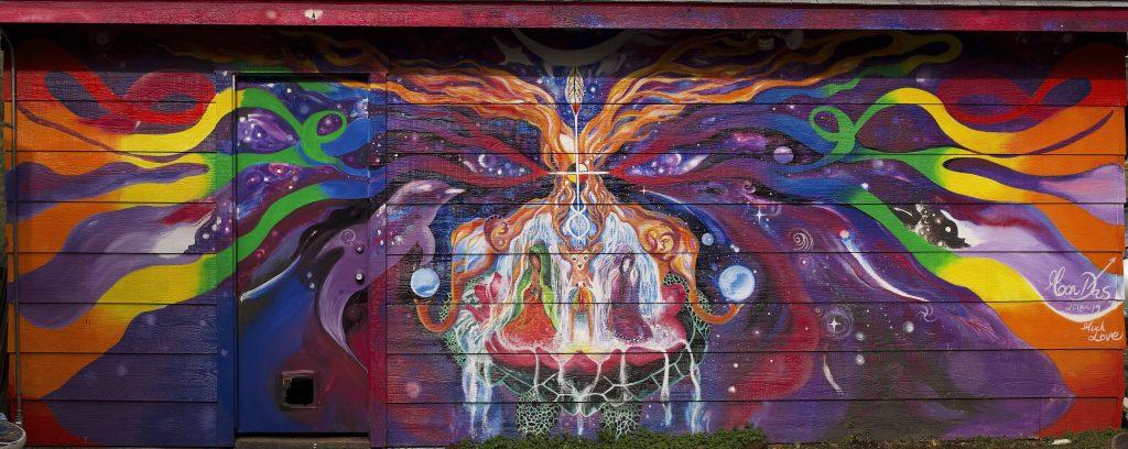 2019 Moon Salas mural