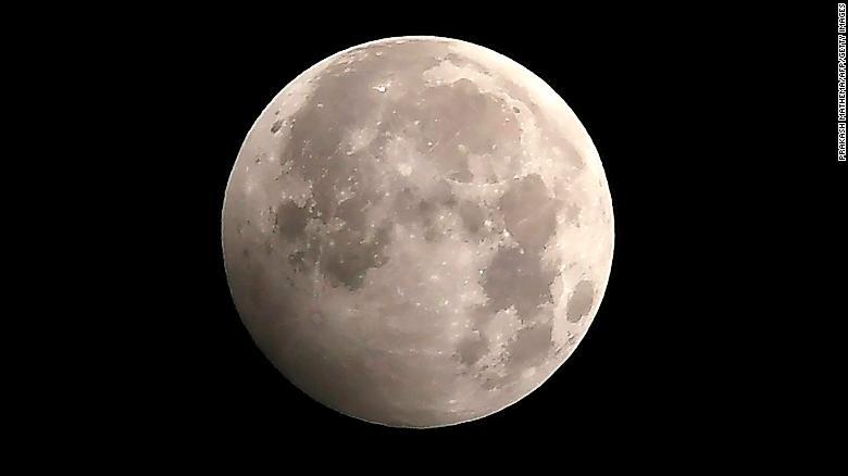 Penumbral lunar eclipse Nov 30, 2020