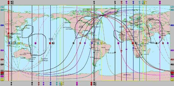 Mar 20 Equinox 2021 Map